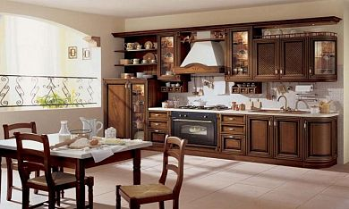 mobilier bucatarie clasica